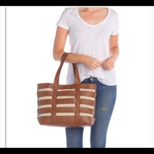 French Connection Brown Eden Tote Bag